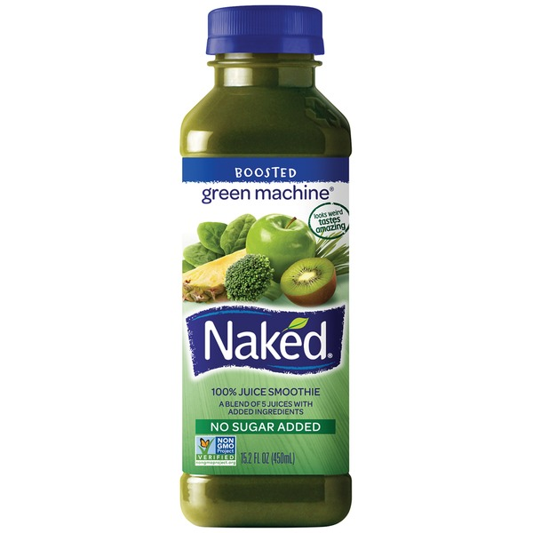 Naked Juice 100% Green Machine Juice Smoothie