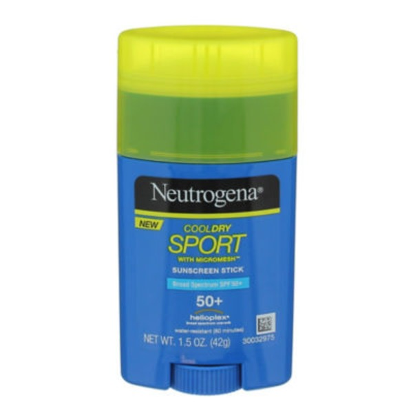 Neutrogena® CoolDry Sport with Micromesh Broad Spectrum SPF 50+ Stick Sunscreen