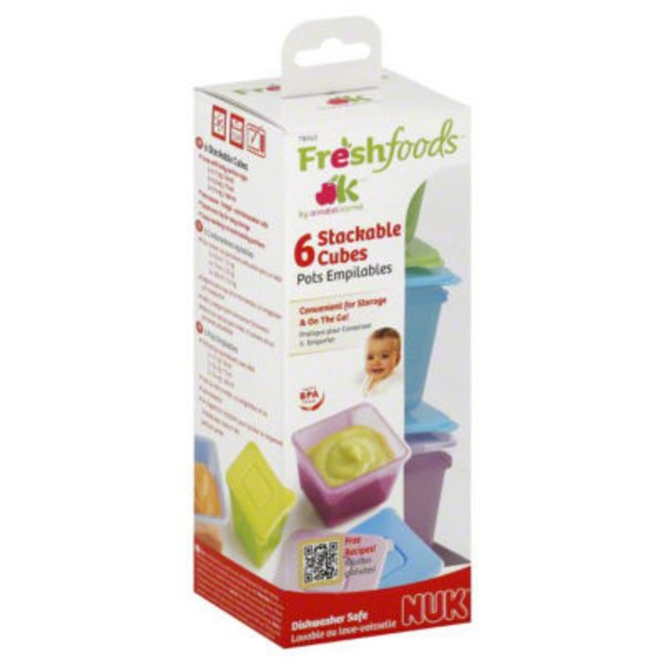 Freshfoods Cubes, Stackable