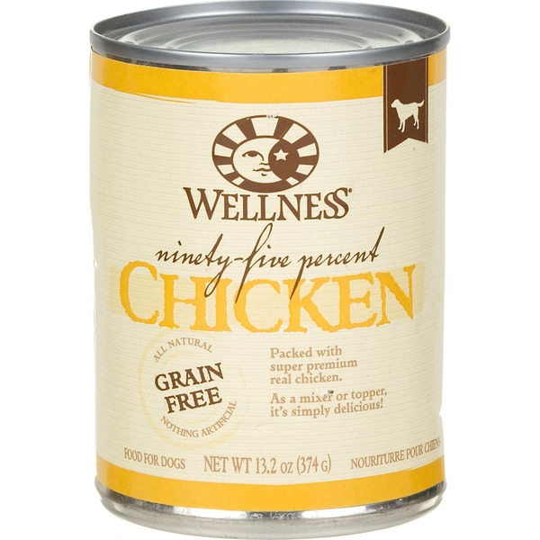 Wellness Ninety Five Chicken Dog Canned