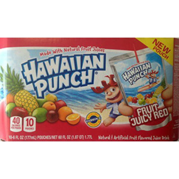 Hawaiian Punch Fruit Juicy Red Regular Juice Drink