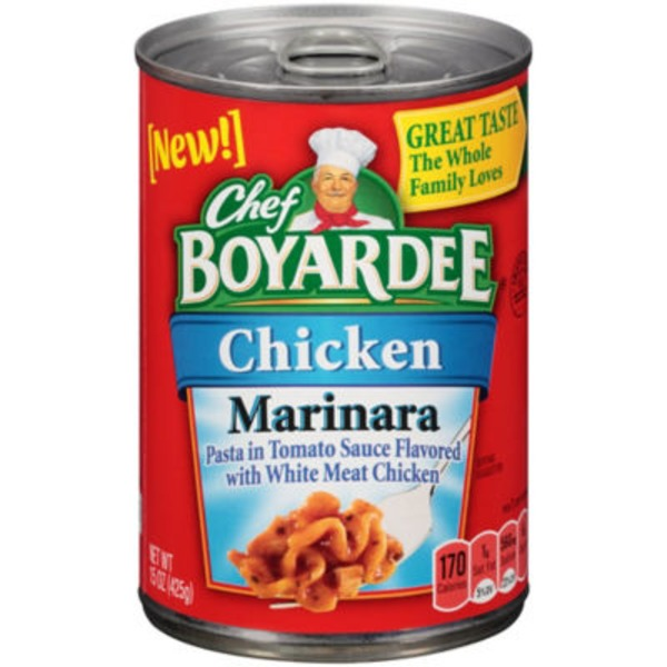 Chef Boyardee Chicken Marinara