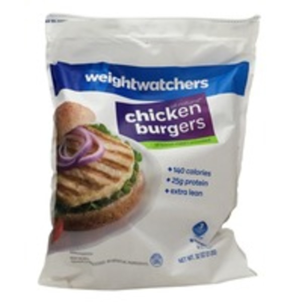 Weight Watchers Chicken Burgers - 8 CT