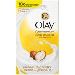 Olay Moisture Outlast Ultra Moisture Beauty Bar with Shea Butter, 3.75 Oz, 6 Ct