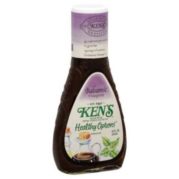 Ken's Steakhouse Light Options Balsamic Vinaigrette Dressing