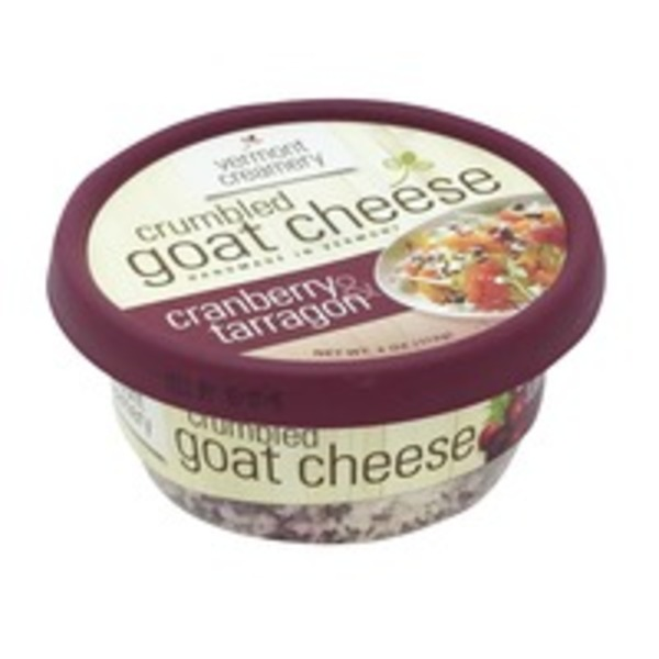 Vermont Creamery Crumbled Goat Cheese Cranberry & Tarragon