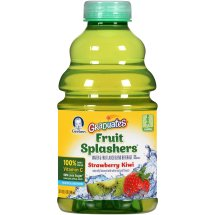 Gerber® Graduates® Fruit Splashers® Strawberry Kiwi Beverage 32 fl. oz. Bottle