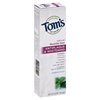 Toms Of Maine Toothpaste Antiplaque & Whitening Peppermint Paste Fluoride-Free