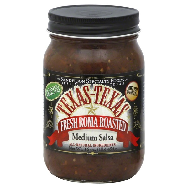 Texas-Texas Medium Fresh Roma Roasted Salsa