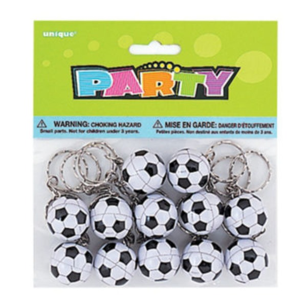 Unique Soccer Ball Keychains