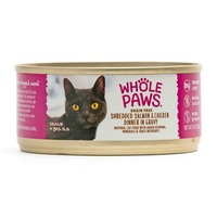 Whole Paws Shredded Salmon & Chicken In Gravy Wet Cat Food