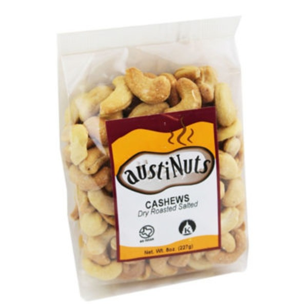 Austinuts Dry Roasted Salted Cashews