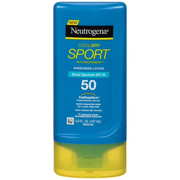 Neutrogena® CoolDry Sport SPF 50 Lotion Sunscreen