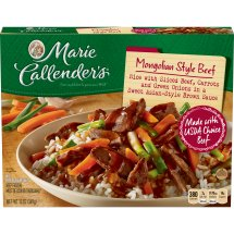 Marie Callender's Mongolian Style Beef, 13 Ounce