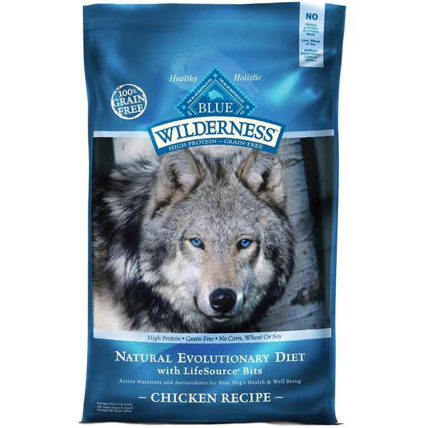 Blue Buffalo Food for Dogs, Natural, Senior, Chicken Recipe