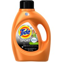 Tide Plus Febreze Sport Active Fresh Scent HE Turbo Clean Liquid Laundry Detergent