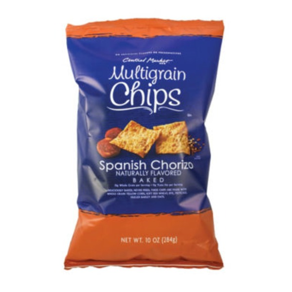Central Market Spanish Chorizo Multigrain Chips