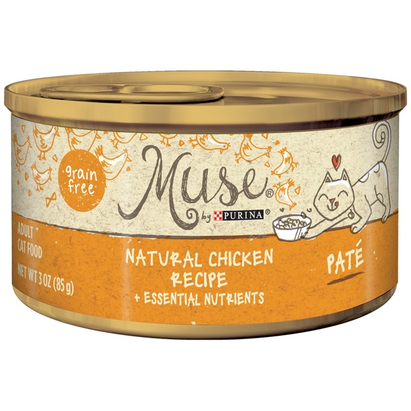 Muse Wet Natural Chicken Recipe Cat Food