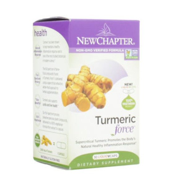 New Chapter Turmeric Force Liquid V Caps