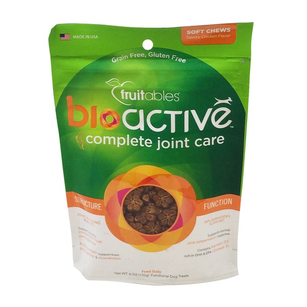 Fruitables Bio Joint Care Dog Treats