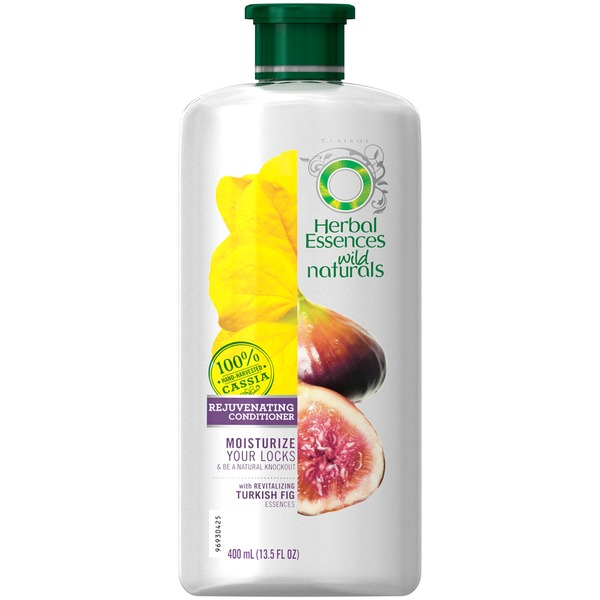 Herbal Essences Wild Naturals Rejuvenating Conditioner 13.5 Fl Oz  Female Hair Care