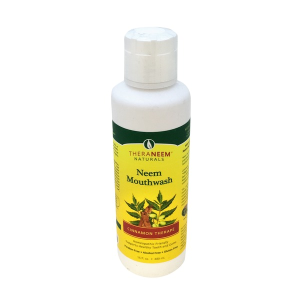 Theraneem Naturals Neem Mouthwash - Cinnamon Therape
