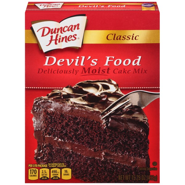 Duncan Hines Classic Devil's Food Cake Mix