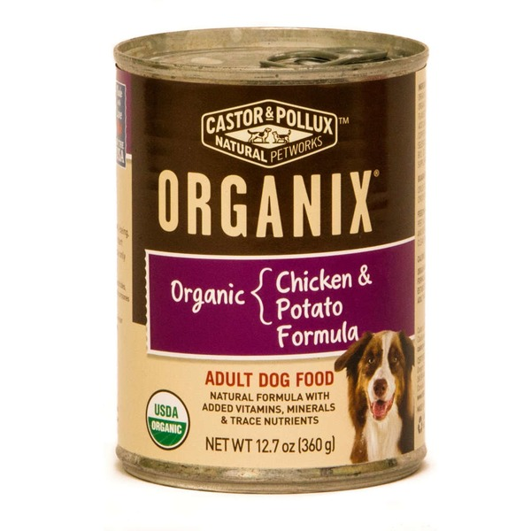 Whole Foods Organix Chicken Potatoes Formula Canned Dog Food