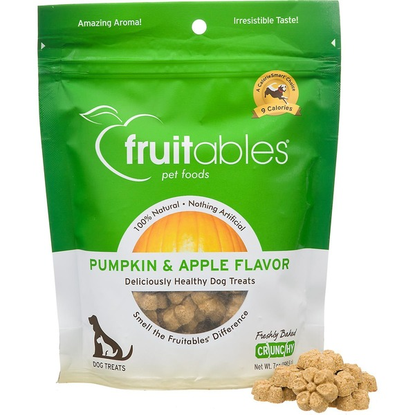 Fruitables Pumpkin & Apple Flavor Dog Treats
