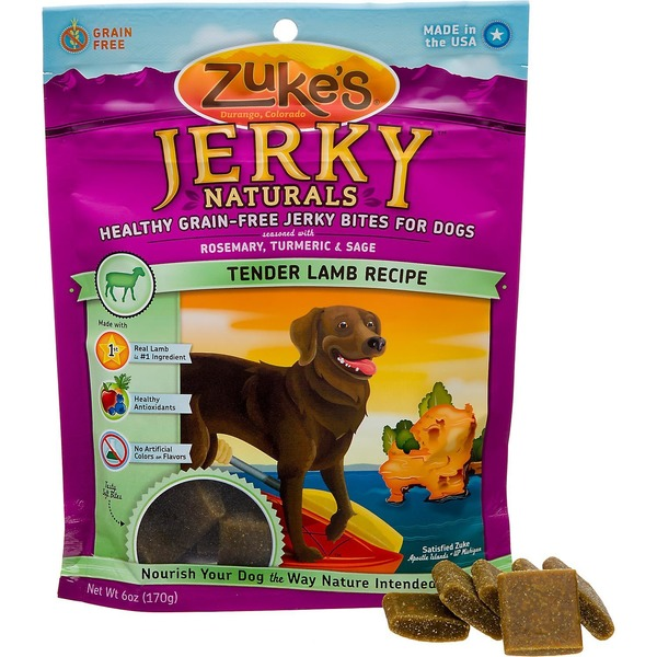 Zuke's Lamb Formula Jerky Dog Treats