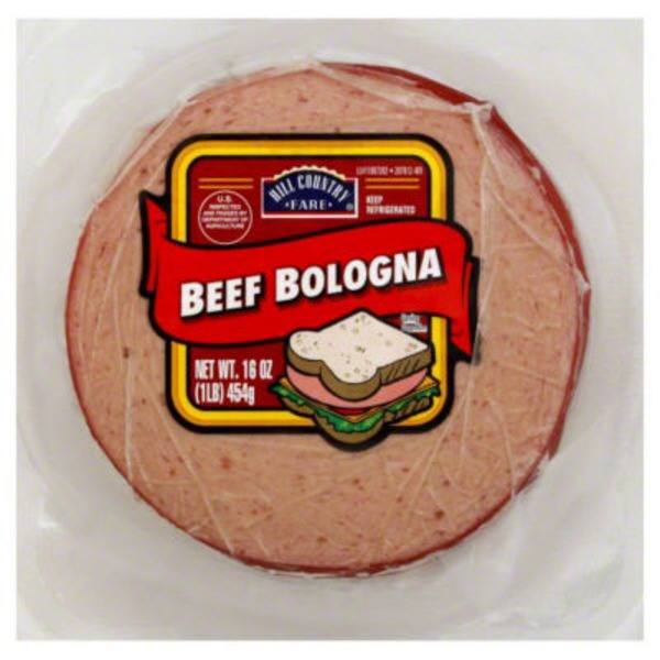 Hill Country Fare Beef Bologna