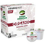 Green Mountain Coffee Organic Sumatra Aceh Dark Roast Coffee K-Cup Pods