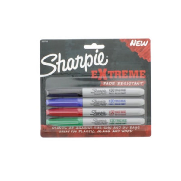 Sharpie Extreme Permanent Markers - 4 CT