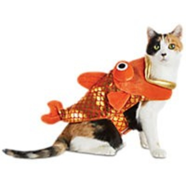 Halloween Goldfish Cat Costume