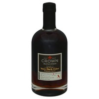Crown Maple Maple Syrup, Very Dark Color, Bottle