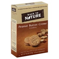 Back to Nature Peanut Butter Creme Cookies