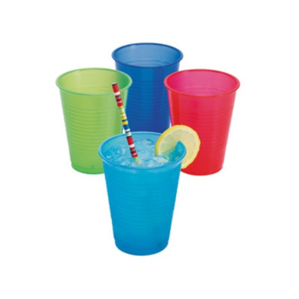 Holiday Market Fiesta Party Cup Assorted Colors