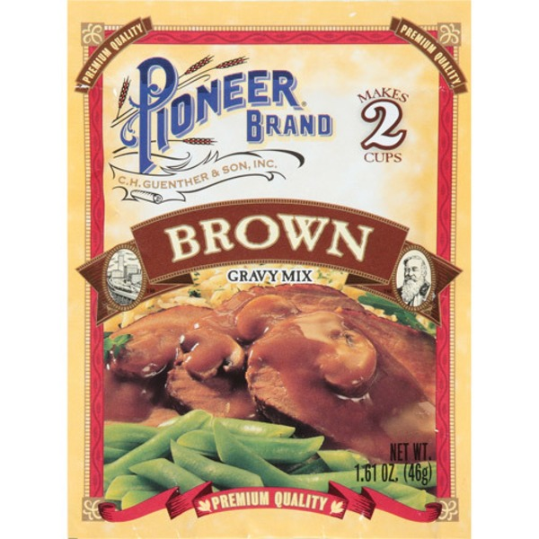 Pioneer Brand No Fat Brown Gravy Mix
