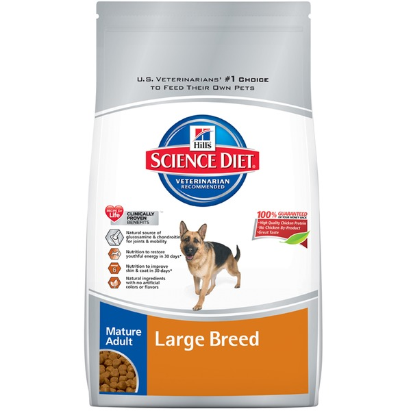 Hill's Science Diet Mature Adult Large Breed Dog Food
