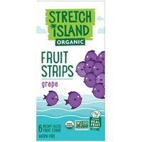 Stretch Island Fruit Organic Grape Fruit Strips