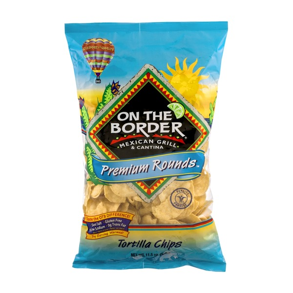 On The Border Tortilla Chips Tortilla Rounds