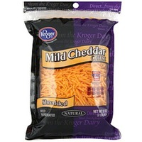 Kroger Shredded Mild Cheddar Cheese