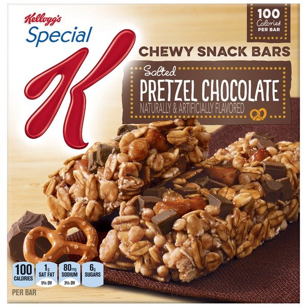 Kellogg's Special K Chewy Salted Pretzel Chocolate Snack Bars
