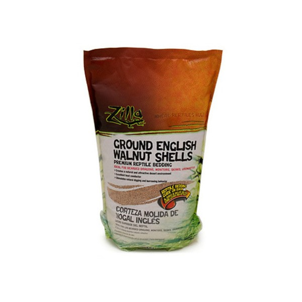 Zilla Ground English Walnut Shells Reptile Bedding