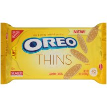 Nabisco Oreo Sandwich Cookies Thins, 10.1 OZ