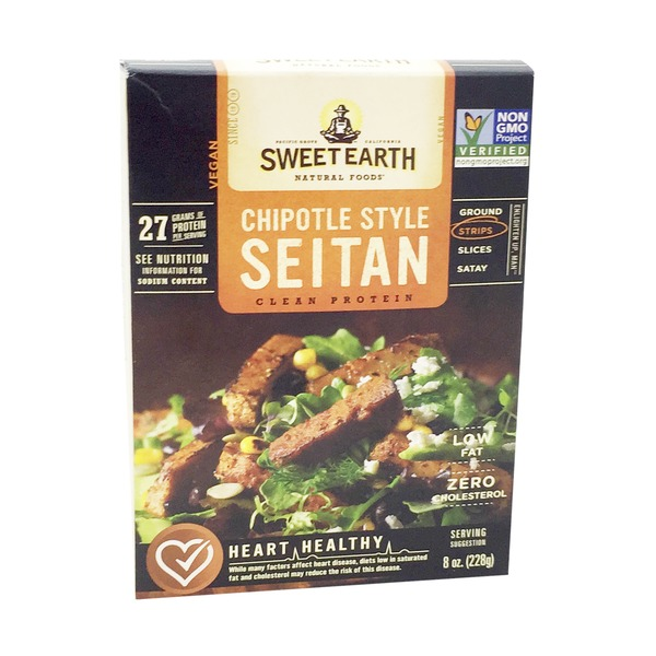 Sweet Earth Chipotle Strips Seitan