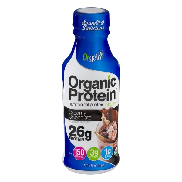 Orgain Organic Protein Nutritional Protein Shake Creamy Chocolate