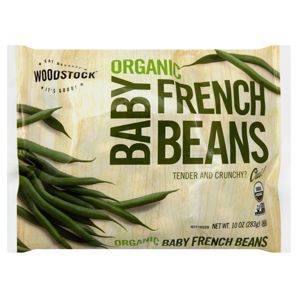 Woodstock Farms Organic Baby French Beans