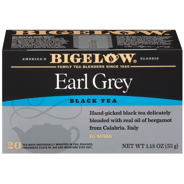 Bigelow Earl Grey 1.18 Oz Black Tea Blend