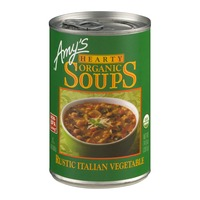 Amy's Hearty Organic Soups Rustic Italian Vegetable Soup